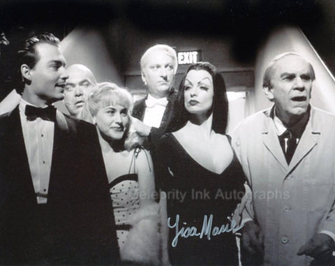 LISA MARIE as Vampira - Ed Wood