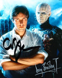 CLIVE BARKER and DOUG BRADLEY - Hellraiser Director and Pinhead