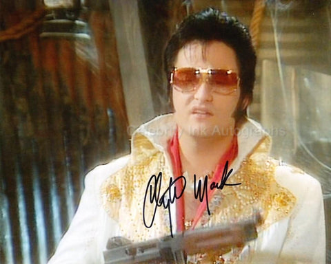 CLAYTON MARK as Elvis Presley - Red Dwarf