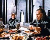"BILLY BOYD and JOHN NOBLE as Peregrin ""Pippin"" Took and Denethor - Lord Of The Rings"