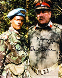 NICHOLAS COURTNEY and ANGELA BRUCE as Brigadiers Lethbridge-Stewart and Bambera - Doctor Who