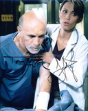 TONY AMENDOLA and LEXA DOIG as Master Bra'tac and Dr. Carolyn Lam - Stargate SG-1
