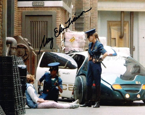 MARY ELLEN TRAINOR as Officer Reese - Back To The Future II