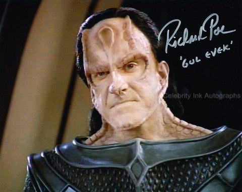 RICHARD POE as Gul Evek  - Star Trek
