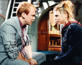 BILLIE PIPER and SHAUN DINGWALL as Rose and Pete Tyler  - Doctor Who