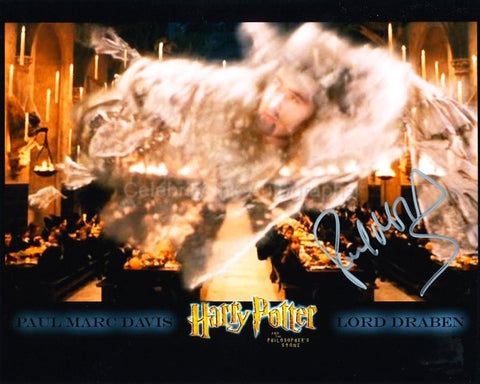 PAUL MARC DAVIS as Lord Draben - Harry Potter