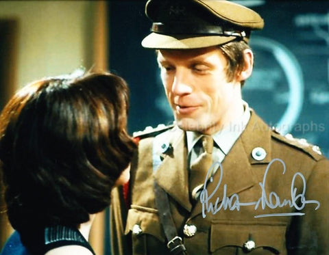 RICHARD FRANKLIN as Captain Mike Yates - Doctor Who