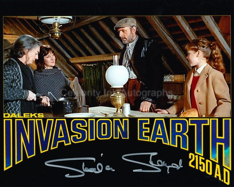 SHEILA STEAFEL as The Young Woman - Daleks' Invasion Earth 2150AD