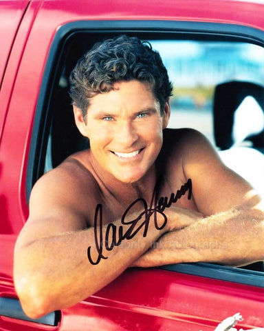 DAVID HASSELHOFF as Mitch Buchannon - Baywatch