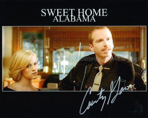 COURTNEY GAINS as Sheriff Wade - Sweet Home Alabama