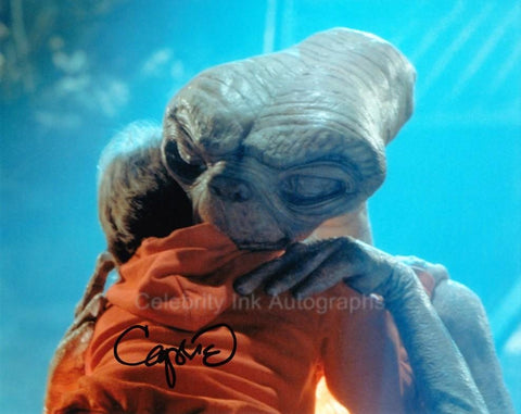 CAPRICE ROTHE the E.T Puppet Movement Co-Ordinator - E.T. The Extra-Terrestrial
