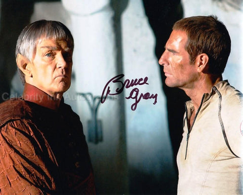 BRUCE GRAY as Surak  - Star Trek: Enterprise