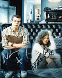 RUSSELL TOVEY and LENORA CRICHLOW as George and Annie - Being Human
