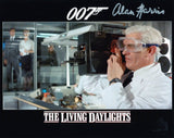ALAN HARRIS as a Q Division Technician - James Bond: The Living Daylights
