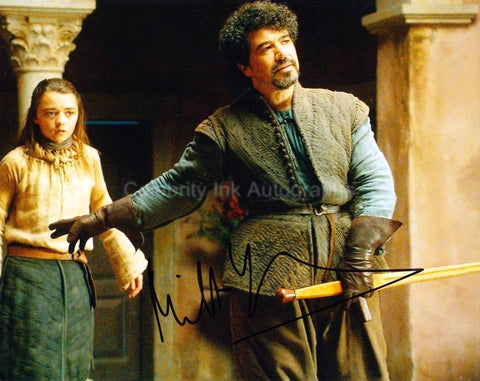 MILTOS YEROLEMOU as Syrio Forel  - Game Of Thrones