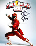 STEVE CARDENAS as Rocky DeSantos / The Red Ranger - Mighty Morphin Power Rangers