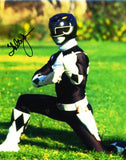 WALTER JONES as Zack Taylor / The Black Ranger - Mighty Morphin Power Rangers