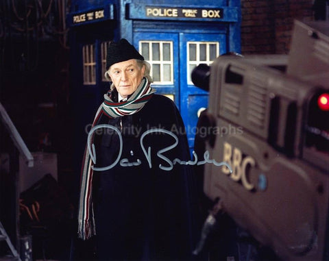 DAVID BRADLEY as William Hartnell - An Adventure In Space And Time