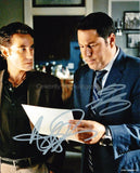 ADRIAN PASDAR and GREG GRUNBERG as Nathan Petrelli and Matt Parkman - Heroes