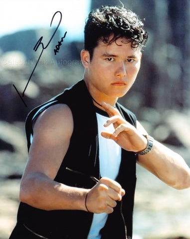 JOHNNY YONG BOSCH as The Black Power Ranger - Mighty Morphin Power Rangers