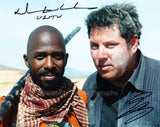 NTARE GUMA MBAHO MWINE and GREG GRUNBERG as Usutu and Matt Parkman - Heroes