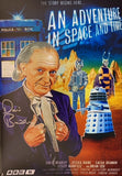 "DAVID BRADLEY as William Hartnell - An Adventure In Space And Time 12""x17.5"""