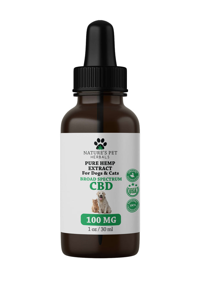 100mg CBD 1oz Dropper