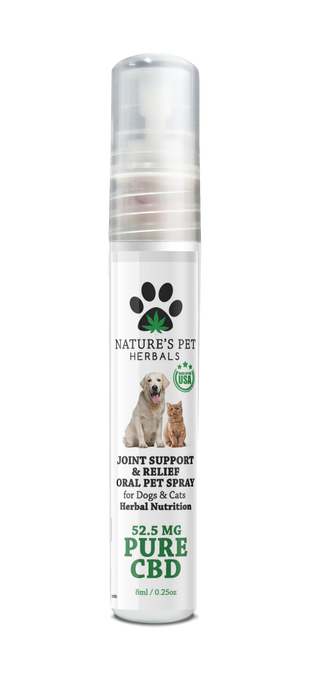 CBD Pet Oil Spray for Joint & Support Relief Oral Spray
