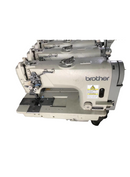 Brother Used Double needle industrial Sewing Machine - Empenzo Automated Sewing Systems