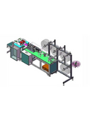 Semi-Automatic Disposable Three-layer Mask Machine - Empenzo Automated Sewing Systems