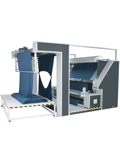 Open Width  Knited Fabric Inspection Machine - Empenzo Automated Sewing Systems