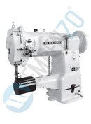 LCWN single needle series High speed, Cylinder bed, Large Vertical axis hook, Compound feed Compound feed and walking foot, Reverse stitch, Lockstitch machines. - Empenzo Automated Sewing Systems