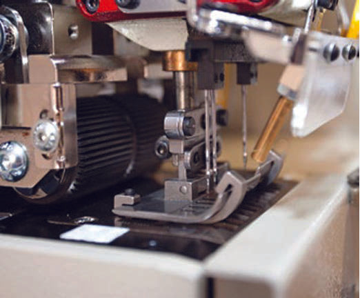 Automatic Straight/Curved Waistband Machine - Empenzo Automated Sewing Systems