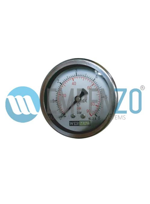 Manometer For EPZ SO -1403 Trouser Side Seam Opening Table With Penumatic Chain Stretching Without Steam Boiler - empenzo.online