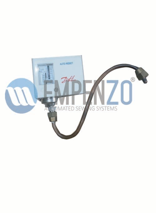 Steam Timing Relay For EPZ SO -1403 Trouser Side Seam Opening Table With Penumatic Chain Stretching Without Steam Boiler - Empenzo Automated Sewing Systems