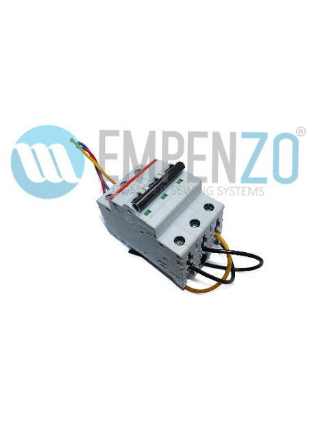 Circuit Braker For Automatic J-Stitch Machine - Empenzo Automated Sewing Systems