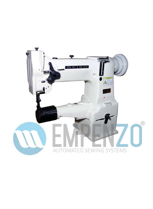 CW series Single needle, High speed, Cylinder bed, Vertical axis hook, Compound feed and walking foot, Reverse stitch, Lockstitch machines. - Empenzo Automated Sewing Systems