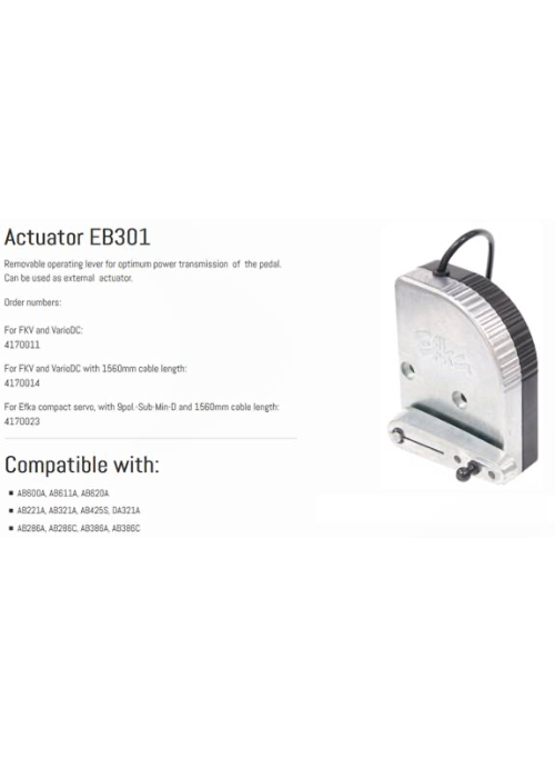 Efka Motors Analogue Actuator - empenzo.online