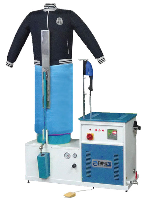 Pneumatic  finishing Machine with Clamp Without Boiler - empenzo.online