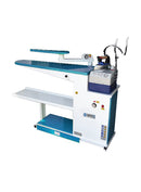 Narrow Type Vacuum Ironing Board with  arm apparatus and iron rest - empenzo.online