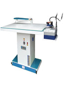 Wide Type Vacuum Ironing Table witharm apparatus and  iron rest - Empenzo Automated Sewing Systems