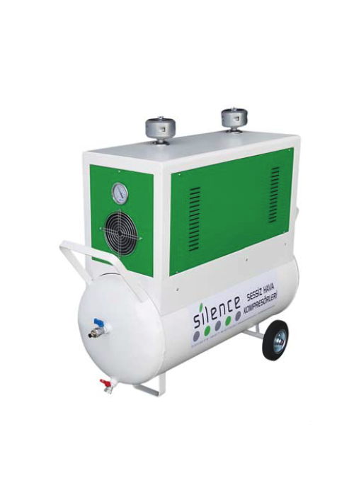 100 Liter Double Engined Silent Air Compresor - empenzo.online