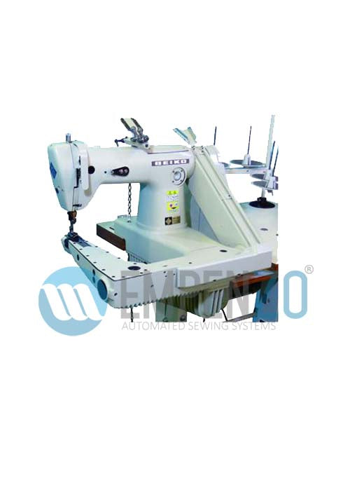 LDA series High speed, Feed-off-the-arm, Lower feed, Double chain stitch machines - Empenzo Automated Sewing Systems