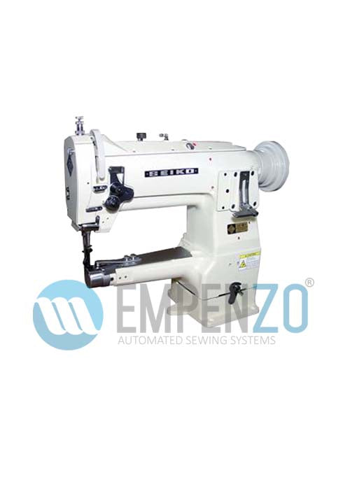 LSC series Single needle, High speed, Narrow Cylinder bed, Horizontal axis hook, Compound feed and walking foot, Reverse stitch, Lockstitch machines. - Empenzo Automated Sewing Systems
