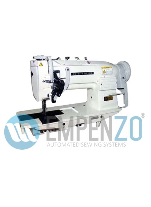 LSW two needle series (angular stitch) High speed, Large vertical axis hook, Compound feed and walking foot, Reverse stitch and split needle bar, Lockstitch machine. - empenzo.online