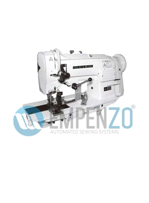 LSW single needle series (edge trimming) High speed, Large vertical axis hook, Compound feed and walking foot,Reverse stitch, Lockstitch machines. - Empenzo Automated Sewing Systems