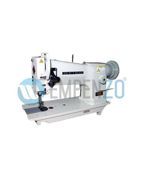 STH-8BLD-3 Single needle, Large horizontal axis hook, Compound feed and walking foot, Reverse stitch, Lockstitch machine. - empenzo.online