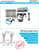 Special Needle Gauge Set-for-km-921-ar-agm-special-automatic-straight-curved-waistband-machine - Empenzo Automated Sewing Systems