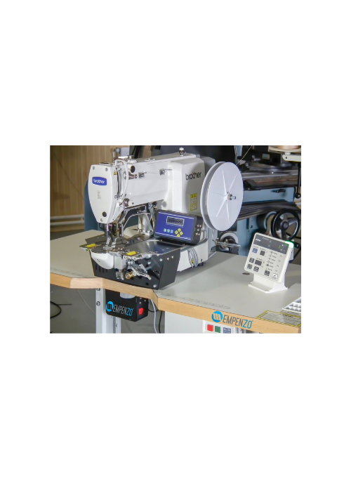 Empenzo Reinforcement SYSTEM Tape Feeder For Bartack Machines - Empenzo Automated Sewing Systems