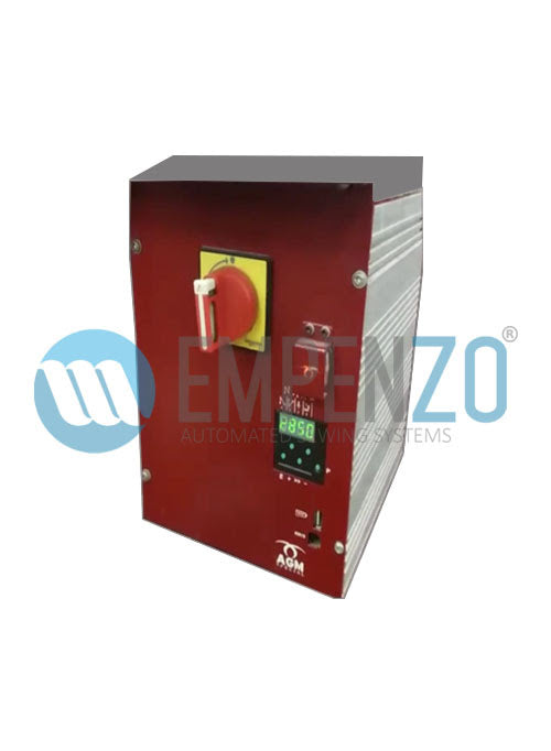 Control Box with AGM Metal box for KM 921 AR, AGM Special, Straight Curved Waistband Machine - empenzo.online